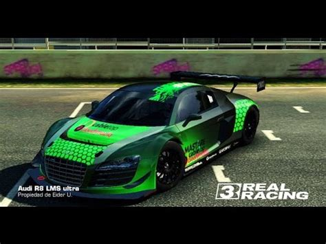 Car Customizer Real by Real Racing 3 Tuning Audi R8 Lms Ultra