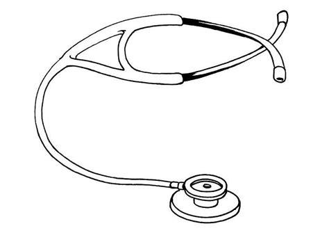 ste da colorare disegno da colorare stetoscopio cat 12128 images