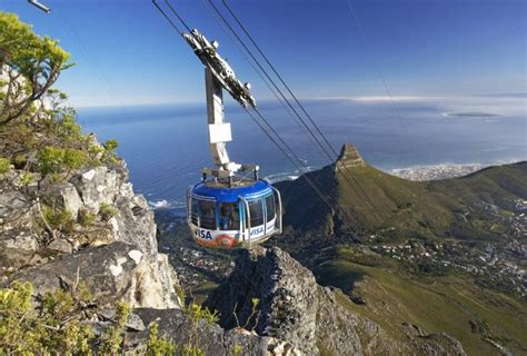 table mountain cable car table mountain aerial cableway official website