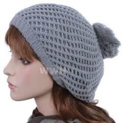Winter Knit Beanie Hats for Women