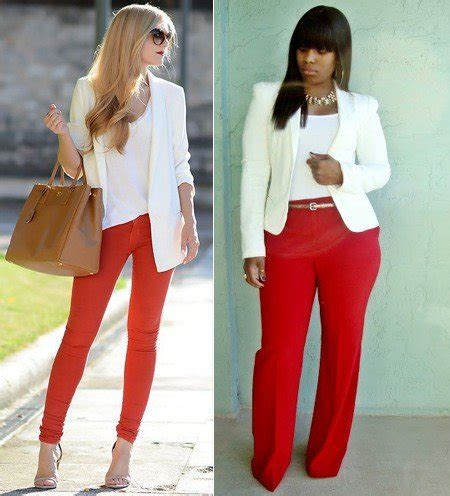 27 fantastic Red Pants For Women Outfit u2013 playzoa.com
