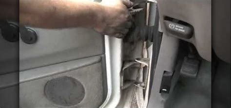 How To Replace The Door Hinge Pins On A Car « Auto