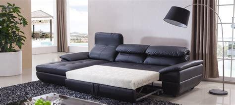 retapisser un canapé d angle canapé d 39 angle gauche convertible cuir noir mezzio