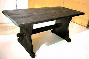Table Basse Pin Massif : table basse en pin massif luckyfind ~ Teatrodelosmanantiales.com Idées de Décoration