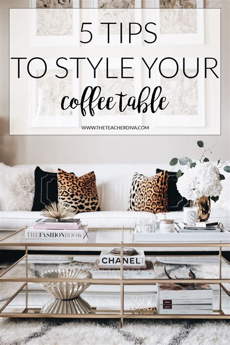 How To Style A Coffee Table  The Teacher Diva A Dallas