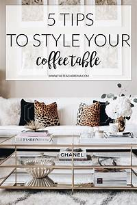 how to style a coffee table the teacher diva a dallas With how to give style on unique coffee tables
