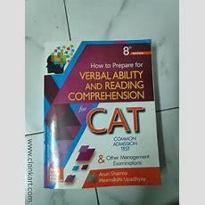 Verbal Ability And Reading Comprehension For Cat  Hyderabad Clankart