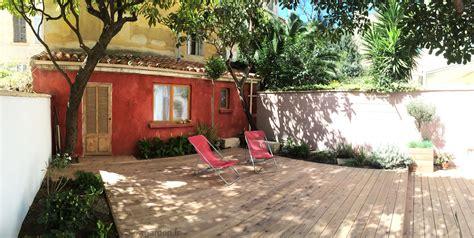 cabane jardin marseille et terrasse bois