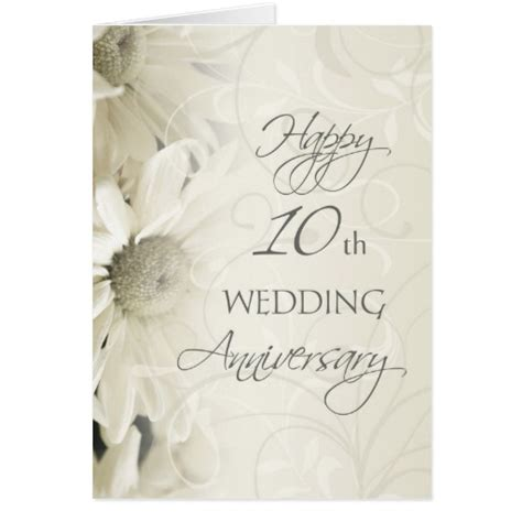 10th wedding anniversary 10th wedding anniversary gifts t shirts art posters other gift ideas zazzle