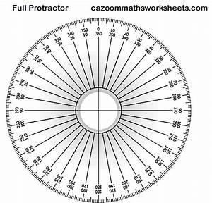 free maths teaching resources ks3 ks4 fun maths resources With full circle protractor template