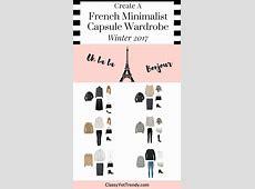 French Minimalist Capsule Wardrobe On a Budget 10 Winter