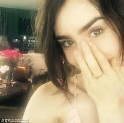 Lily Collins posts Instagram message as she celebrates ...