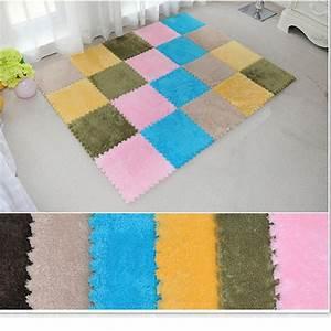 8Pcs 30x30cm Puzzle Carpet Baby Play Mat Floor Puzzle Mat