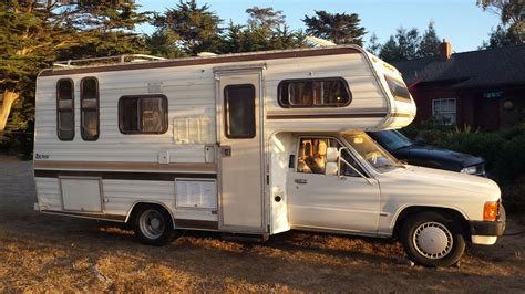 Toyota Motorhomes For Sale by 1985 Toyota Dolphin Motorhome For Sale In Redding Ca