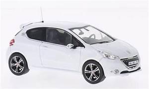 Peugeot 208 Blanche : peugeot 208 gti miniature le mans edition blanche 2013 ixo 1 43 voiture ~ Gottalentnigeria.com Avis de Voitures