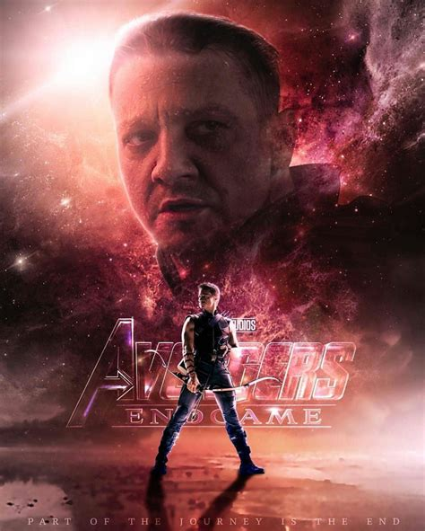 Avengers Endgame Hawkeye Art Play Movies One