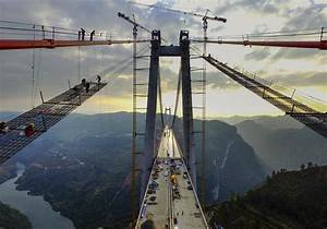 World's 2nd highest suspension bridge is almost complete ...