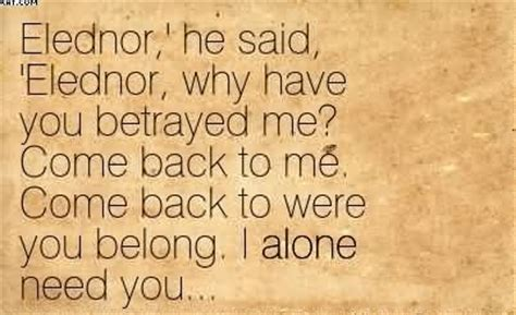 You Always Come Back To Me Quotes