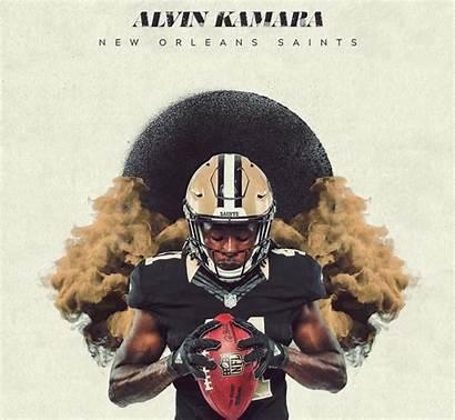 Alvin Kamara Saints Orleans Geaux Desktop Lsu