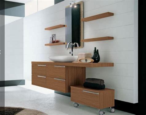 Holz Badezimmermöbel