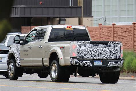 Spy Shots Changes Coming To 2019 Ford Super Duty Trucks