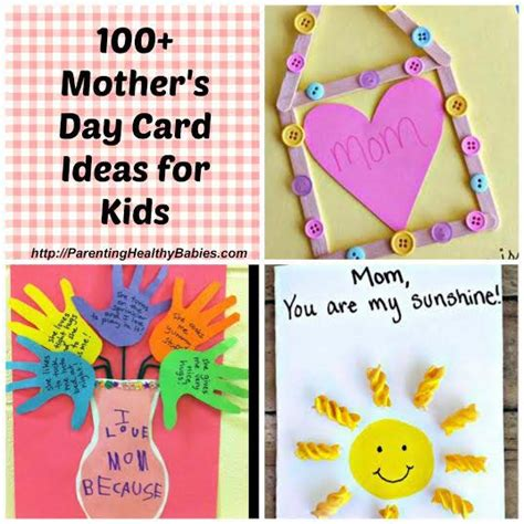mothers day ideas for mother s day card ideas for kids