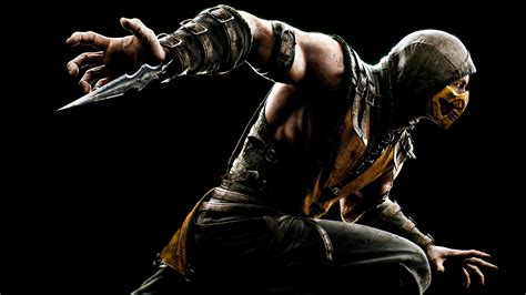 Car Wallpapers Hd 4k Scorpion Mortal Kombat by Mortal Kombat X Wallpaper 1080p Wallpapersafari