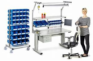 Assembly Workbenches - Swisso Storage Solutions