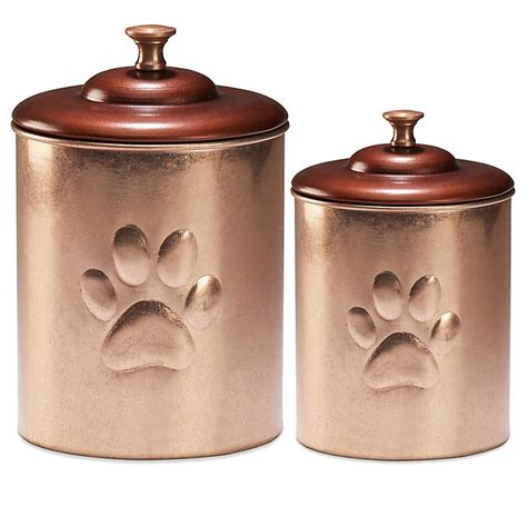 pet canister  copper bed bath