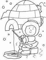 Eskimo Coloring Pages Preschool Winter Craft Inuit Template Toddler Animals Igloo Crafts Activities Preschoolactivities Worksheets Sheets Face Kindergarten Snow Season sketch template