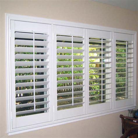 modern adjustable plastic pvc shutter plantation casement window