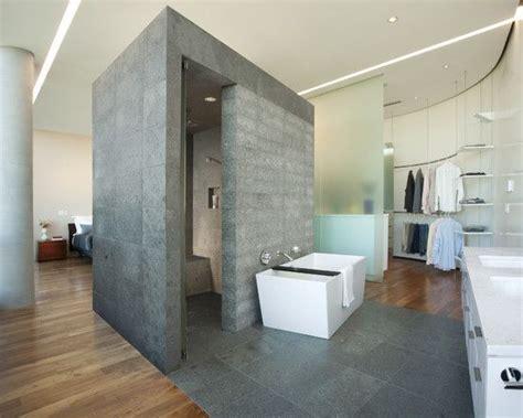 stylish modern penthouse  black  white color cool