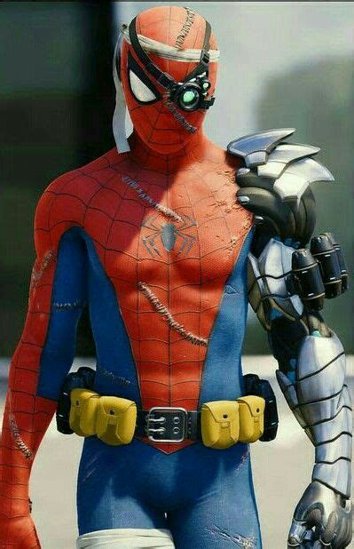 spidey suit series cyborg spider man suit gametography