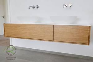 Waschtisch Holz Massiv : waschtischunterschrank holz schreinerei holzdesign ~ Lizthompson.info Haus und Dekorationen
