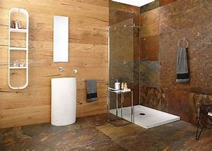 Revetement Douche Italienne : am nager une salle de bain moderne 30 id es et conseils ~ Edinachiropracticcenter.com Idées de Décoration