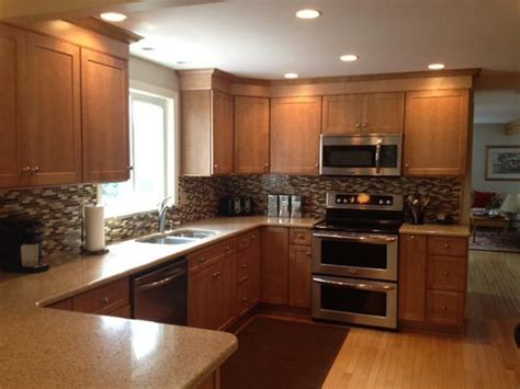 schrock pleasant hill  maple sahara moms kitchen remodel pinterest galleries