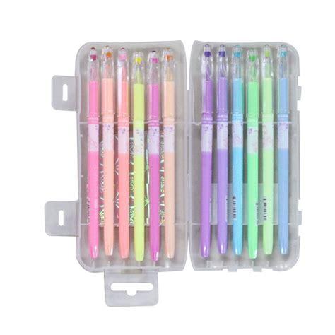 best colored pens buy pastel colored gel pens set of 12 pens in
