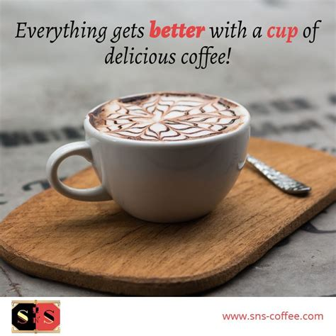 A lot of people aren't aware of for these people, it's hard to make an argument against drinking that much coffee. It's very good for your health to take one cup of coffee every day! #SNSCafe #SNSCoffee #coffee ...