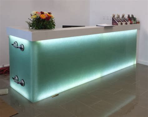 bio glass countertops bio glass by coveringsetc aquamarine emerald forest