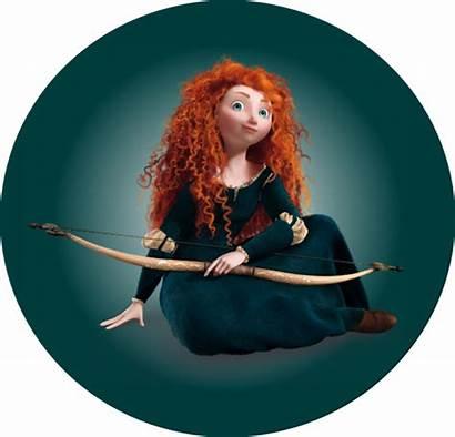 Merida Brave Disney Transparent Princess Eilonwy Icons