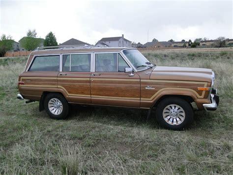 jeep grand wagoneer 1985 amc jeep grand wagoneer for sale