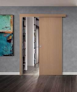 Porte Coulissante Applique : coulissant en applique ~ Carolinahurricanesstore.com Idées de Décoration