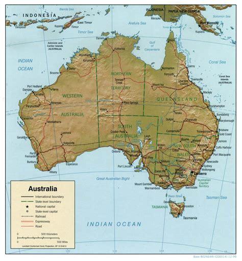 diarios de   todos los mapas de australia gratis