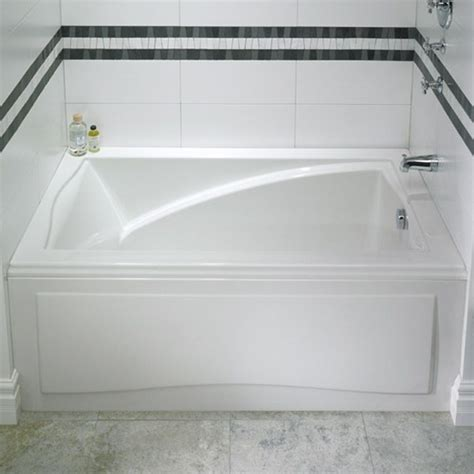 alcove tub  style  alcove style bathtub  integrated skirt  tiling flange ideal