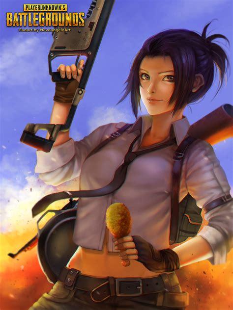 playerunknowns battlegrounds zerochan anime image board