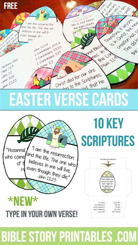 easter bible verse printables 109 | EasterVerseCardsPin