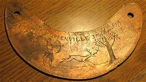 1795 Treaty of Greenville Ohio Indian Peace Medal Gorget ...