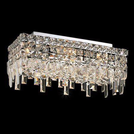 Elegant Lighting 2035F16C/EC Crystal Maxime Rectangular