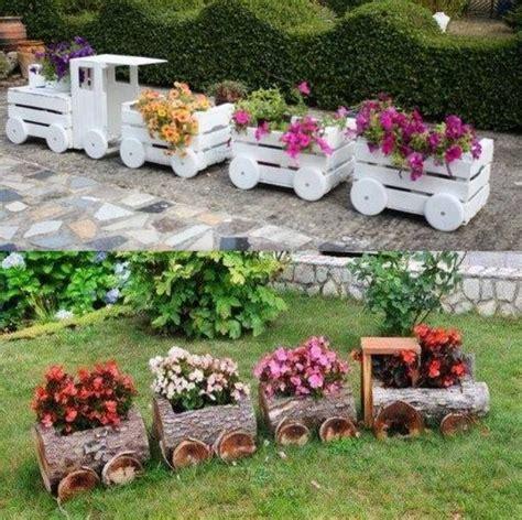 belles idees recup  deco pour le jardin jardinage