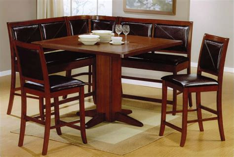 corner table and chairs 21 space saving corner breakfast nook furniture sets booths
